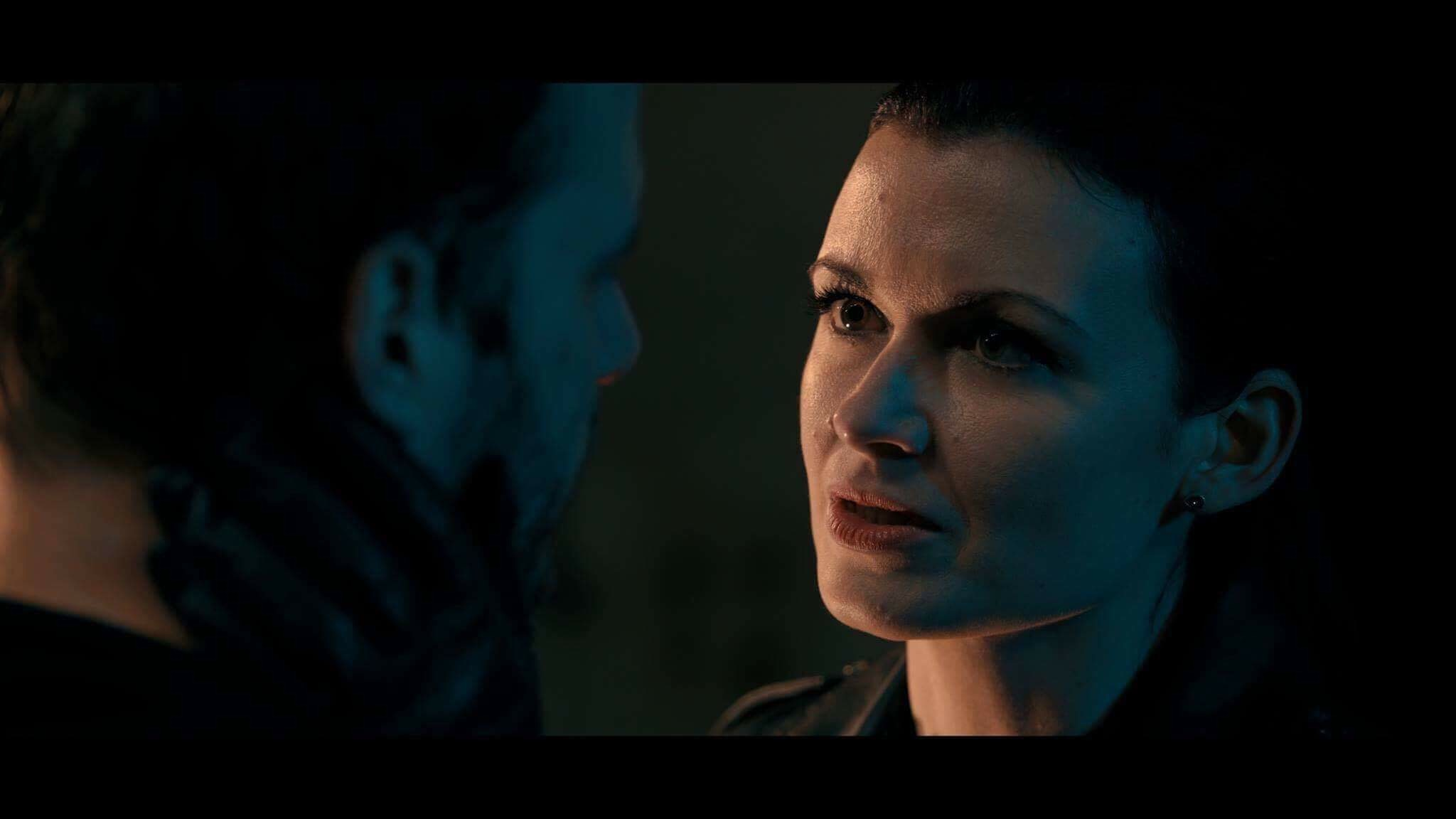 Cheryl Neve with Kevin Leslie in the Doorman